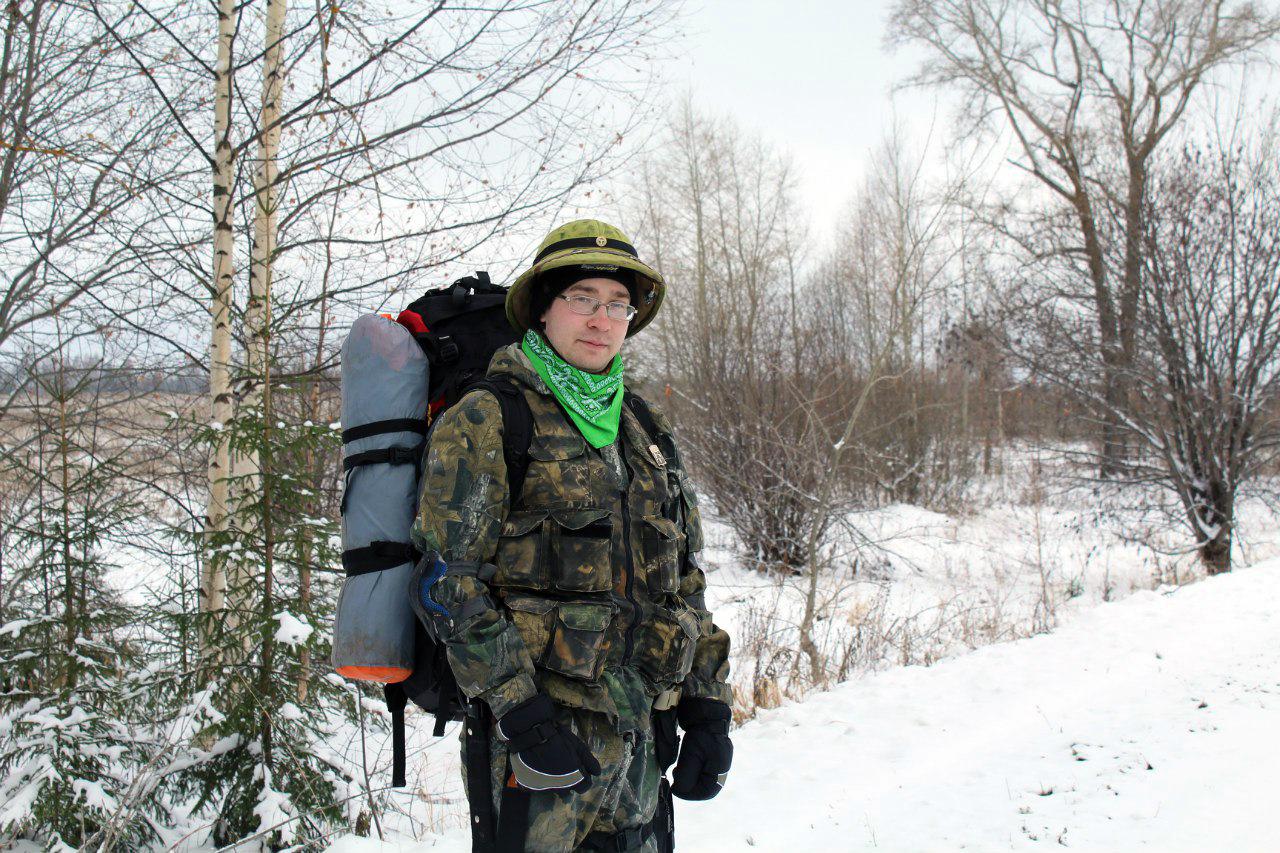 Антон Сбоев, зимний поход