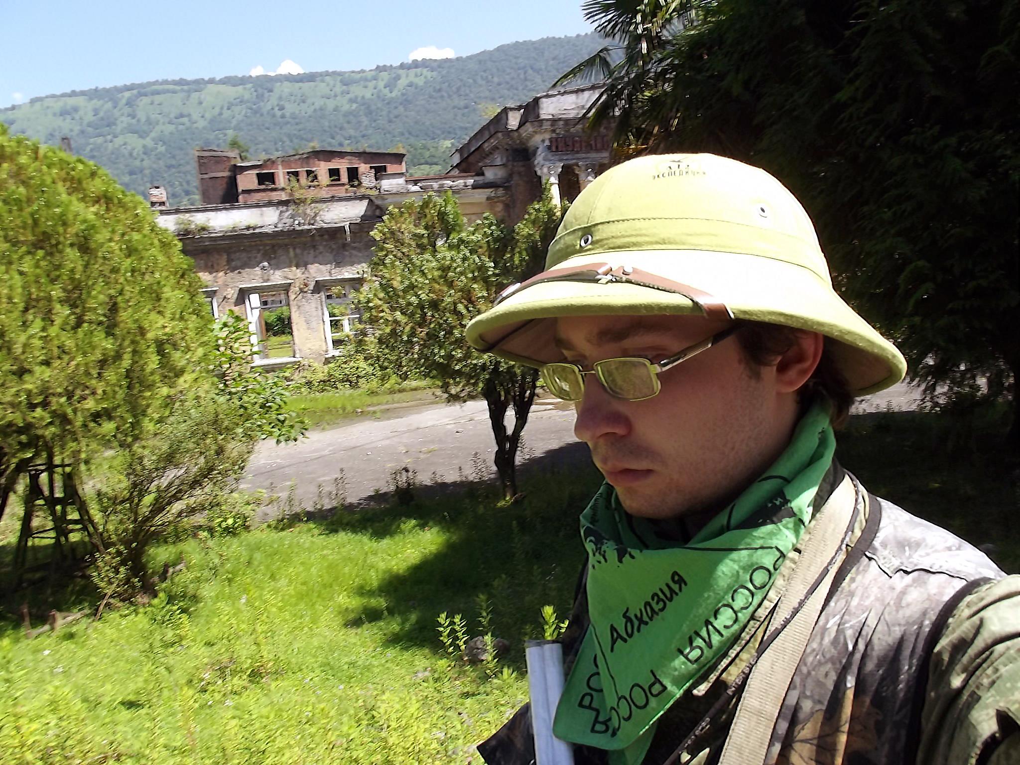 Антон Сбоев экспедиция в Абхазию